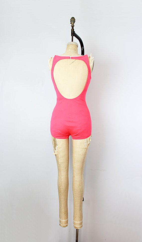 vintage 70s swimsuit / 1970s novelty anchor swims… - image 4