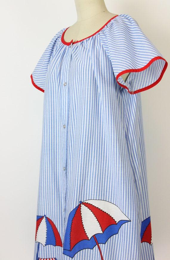 vintage 60s dress / 1960s novelty house dress / s… - image 6