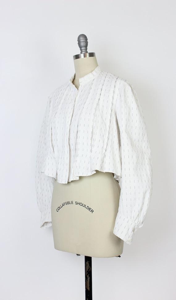 antique cotton blouse / Edwardian cotton blouse /… - image 3