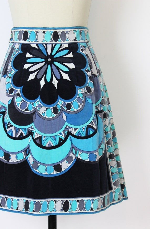 vintage 60s skirt / 1960s EMILIO PUCCI skirt / ve… - image 6