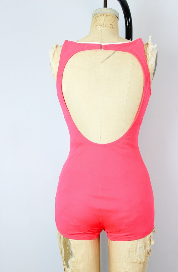 vintage 70s swimsuit / 1970s novelty anchor swims… - image 7