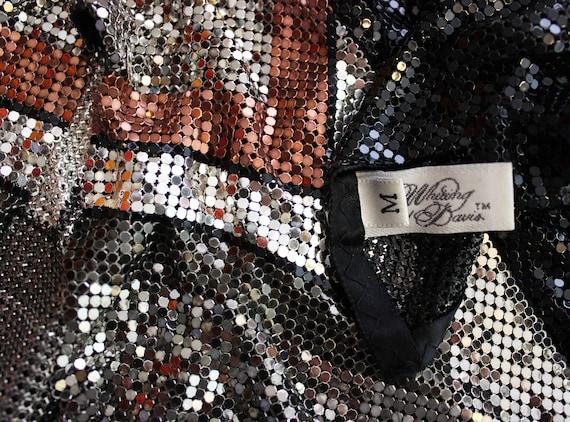 vintage metal mesh shirt / 1980s WHITING and DAVI… - image 9