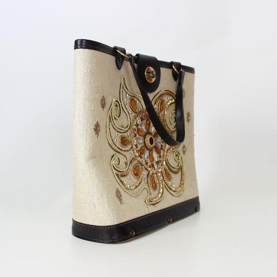 vintage 1960s bag / 1960s jeweled bag / Enid Coll… - image 4