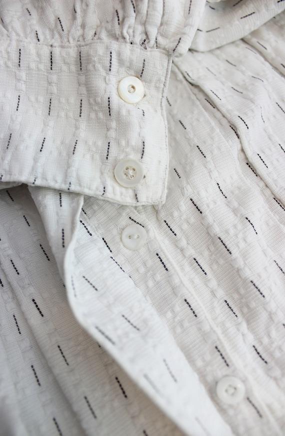 antique cotton blouse / Edwardian cotton blouse /… - image 8