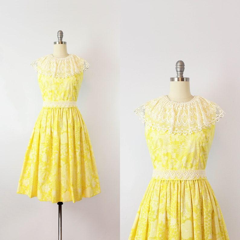 1fc74d0340c Vintage 60s LILLY PULITZER dress   1960s floral sundress