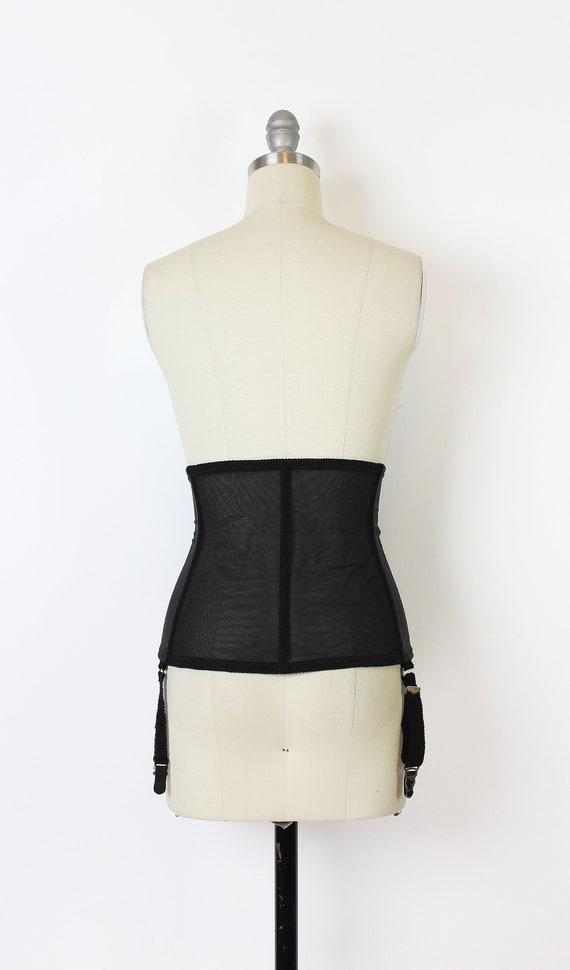 vintage 80s corset / 1980s underbust corset / dea… - image 4
