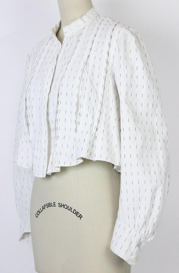 antique cotton blouse / Edwardian cotton blouse /… - image 6