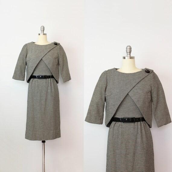 vintage 50s PIERRE CARDIN dress set / 1950s wool w