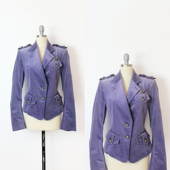 vintage velvet jacket / vintage Yves Saint Laurent