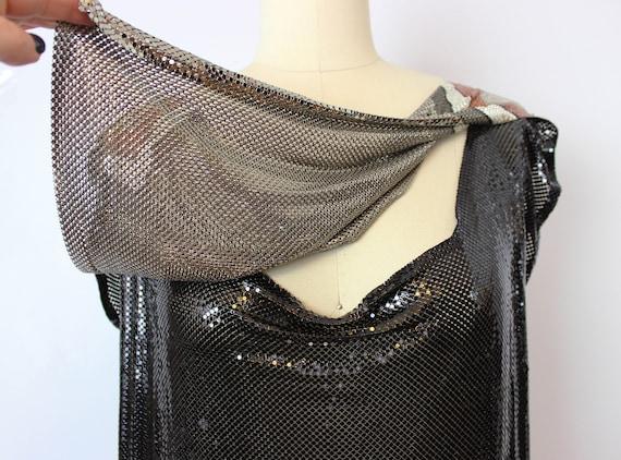 vintage metal mesh shirt / 1980s WHITING and DAVI… - image 8
