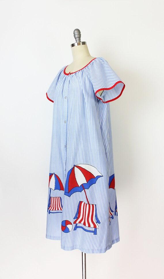 vintage 60s dress / 1960s novelty house dress / s… - image 3