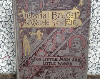 Antique fairy tales book