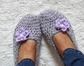 Häkeln Sie Familie Pantoffeln Crochet Erwachsene Haus Schuh Etsy
