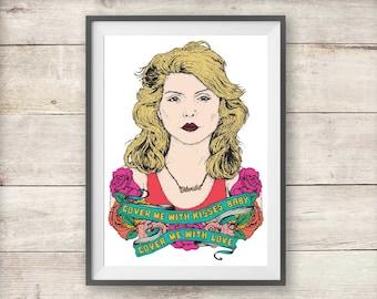 """Blondie Deborah Harry Photo Print 13x19/"""""""