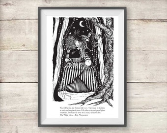 The Night Circus - Isobel Print