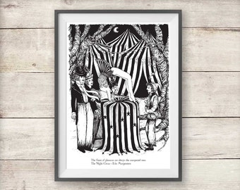 The Night Circus - Bailey and Tsukiko Print