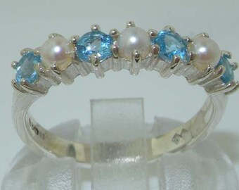 USA vendeur Eternity cz ring sterling silver 925 BEST DEAL Bijoux Jaune Taille 7