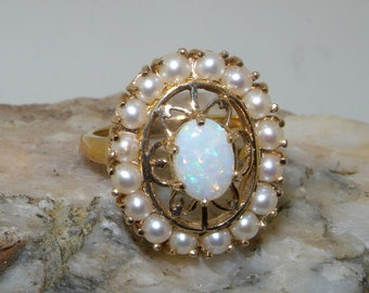 English Victorian Style Carved Ring Customisable 925 Sterling Silver Opal Triplet Victorian Inspired Flower Cluster design