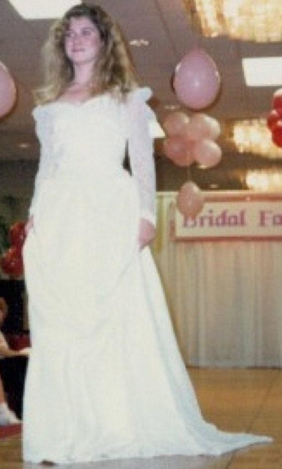 Vintage Wedding Gown Priscilla Lynn Originals Worn In Bridal Etsy