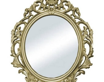 Once Upon A Time Fairytale Gold Mirror