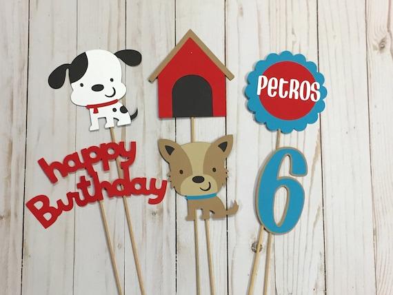 Puppy Centerpiece Birthday Party Decorations