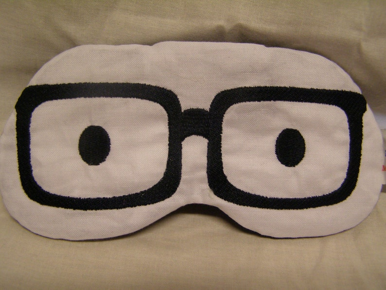 0954a11bfd4 Embroidered Eye Mask Sleeping Cute Sleep Mask for Kids or