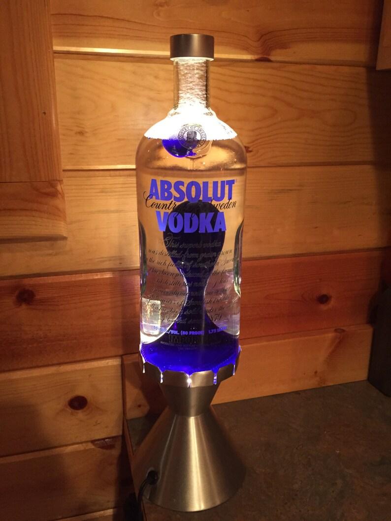 Custom Lava Lamp Light 1 75 Liter Grande Absolut Vodka