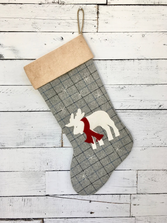 image 0 - Rustic Christmas Stocking
