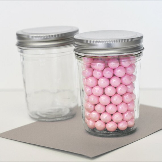 Mini Mason Jars Set Of 25 Wedding Favors Party Favor Diy Etsy