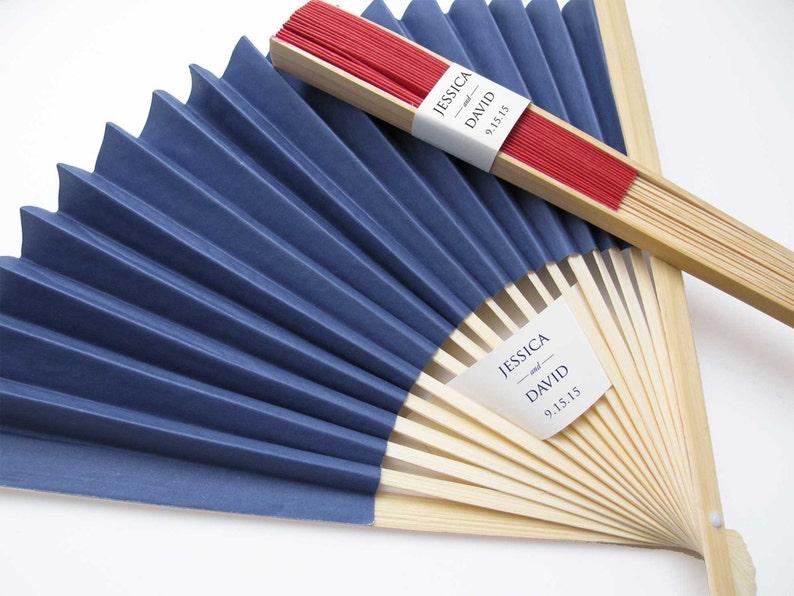 Personalized Fans 25 Set Paper Fan Wedding Favors Party Favors Hand Fans Bridal Shower Gifts More Colors