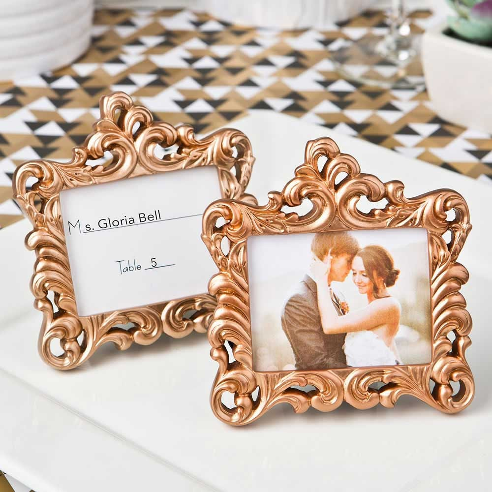 1e2656f46a0 Rose gold frames set of place card holders for your etsy jpg 1000x1000 Beautiful  gold frames