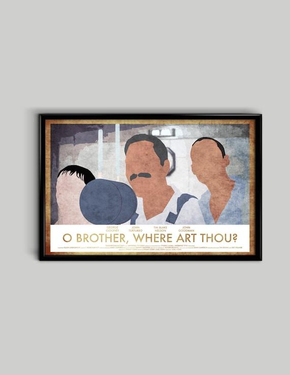 "O Brother Where Art Thou Poster Mini 11/""X17/"""