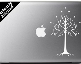 Vinyl Decal - Tree of Gondor Decal inspired by The Lord of the Rings, for Macbook, laptop etc...