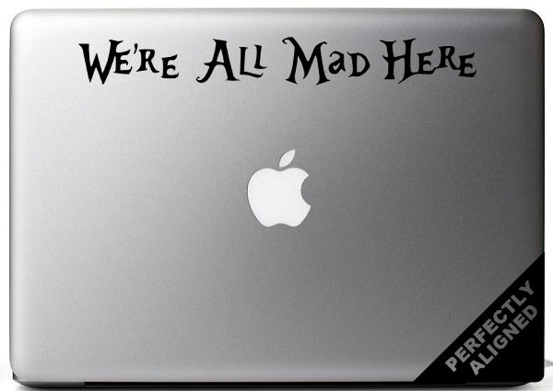 Alice in Wonderland inspired We're All Mad image 0