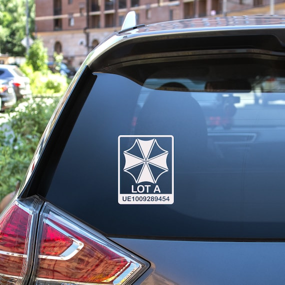Umbrella Corporation Vinyl Bumper Sticker Decal 5