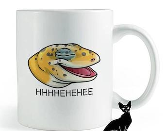 Laughing Lizard Meme Leopard Gecko Mug