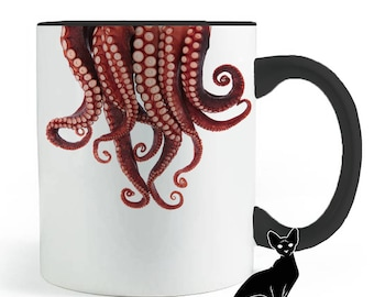 Octopus All Things Tentacle Mug