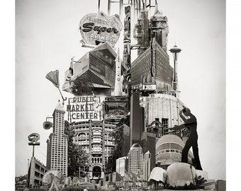 Washington landmarks | Etsy