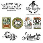 Personalized Hand Drawn Business Logo Design Services - Several Concepts - Hand Lettered Logo Design Art