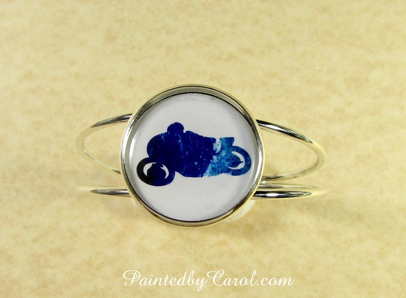 Motorcycle Bracelet Motorcycle Jewelry Motorcycle Cuff image 0