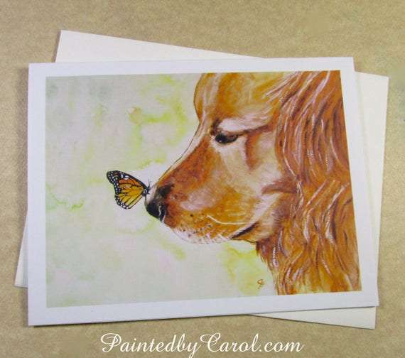 Golden retriever birthday card golden retriever card dog etsy image 0 m4hsunfo