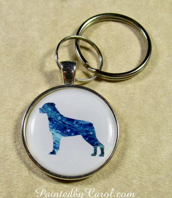 Rottweiler Keychain Rottweiler Key Fob Rottweiler Key Ring  cc0ead494
