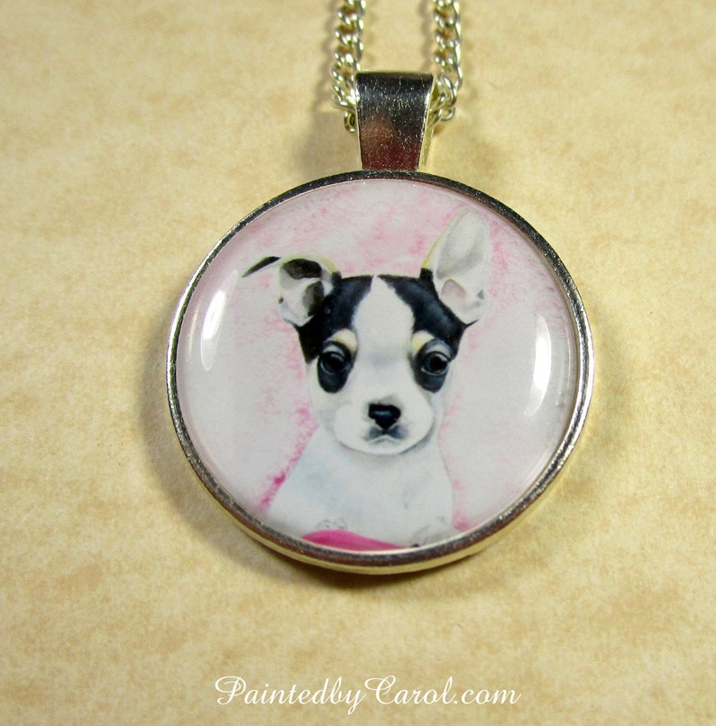 Chihuahua Pendant Chihuahua Necklace Chihuahua Jewelry Pendant Only