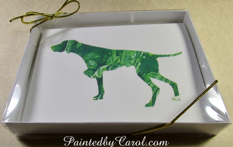 Pointer Stationery Pointer Mom Gift Pointer Dad Gift Pointer Gifts Pointer Card Card with Pointer Pointer Note Cards