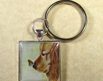 Golden Retriever Keychain, Golden Retriever Key Chain, Golden Retriever Key Ring, Golden Retriever Mens Gifts, Golden Retriever Gifts