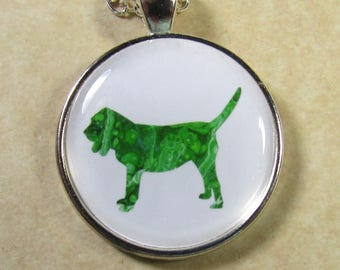 Bloodhound Pendant, Bloodhound Necklace, Bloodhound Jewelry, Bloodhound Gifts, Bloodhound Mom Gifts, Gifts with Bloodhound