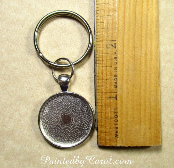Black Lab Wooden Keychain