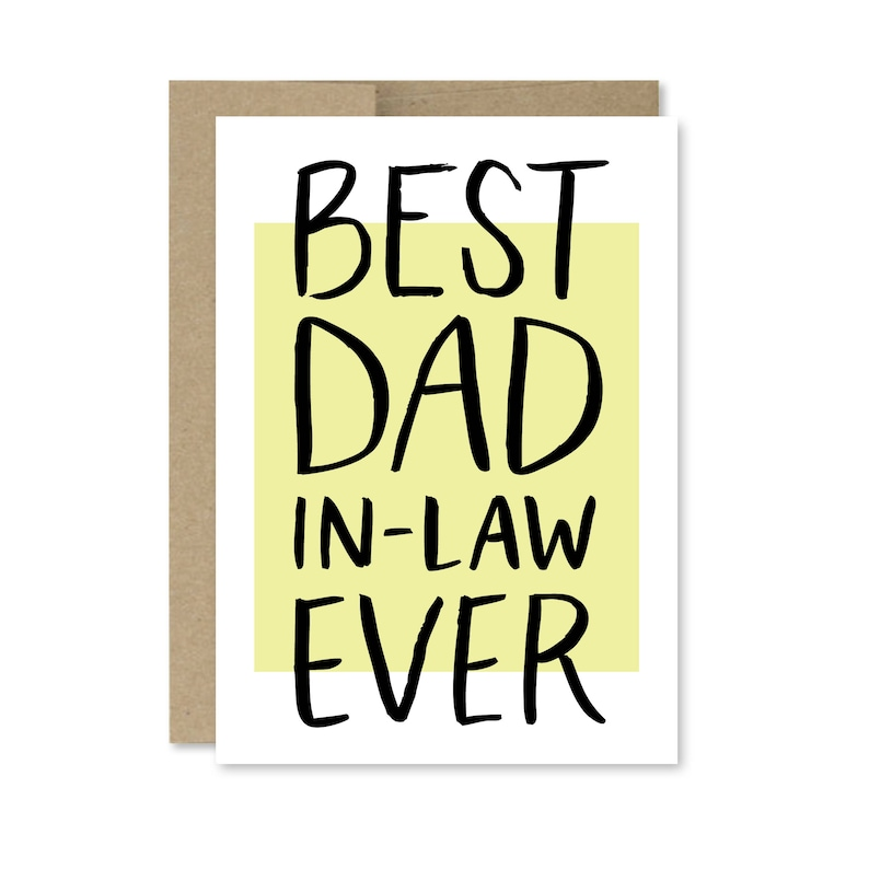 picture about Printable Fathers Day Card named Printable Fathers Working day Card - Immediate Obtain - Perfect Father In just-Legislation At any time - Card for Dad inside of Legislation - Printable Fathers Working day Card