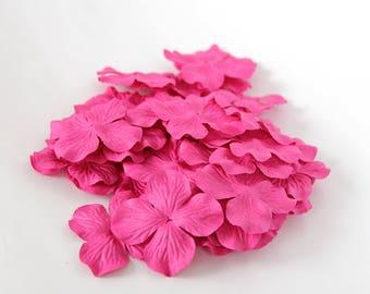 Hot Pink Hydrangea Etsy