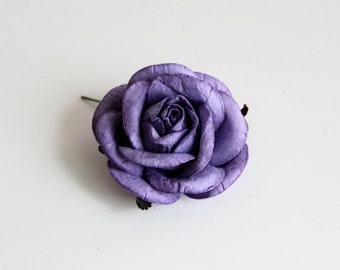 Lilac mulberry paper 5 cm rose